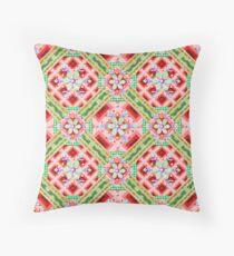 Modern Folkloric Winter Floor Pillow