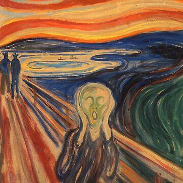 Edvard Munch The Scream by AtticSalt