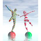 Balancing act by Carol and Mike Werner