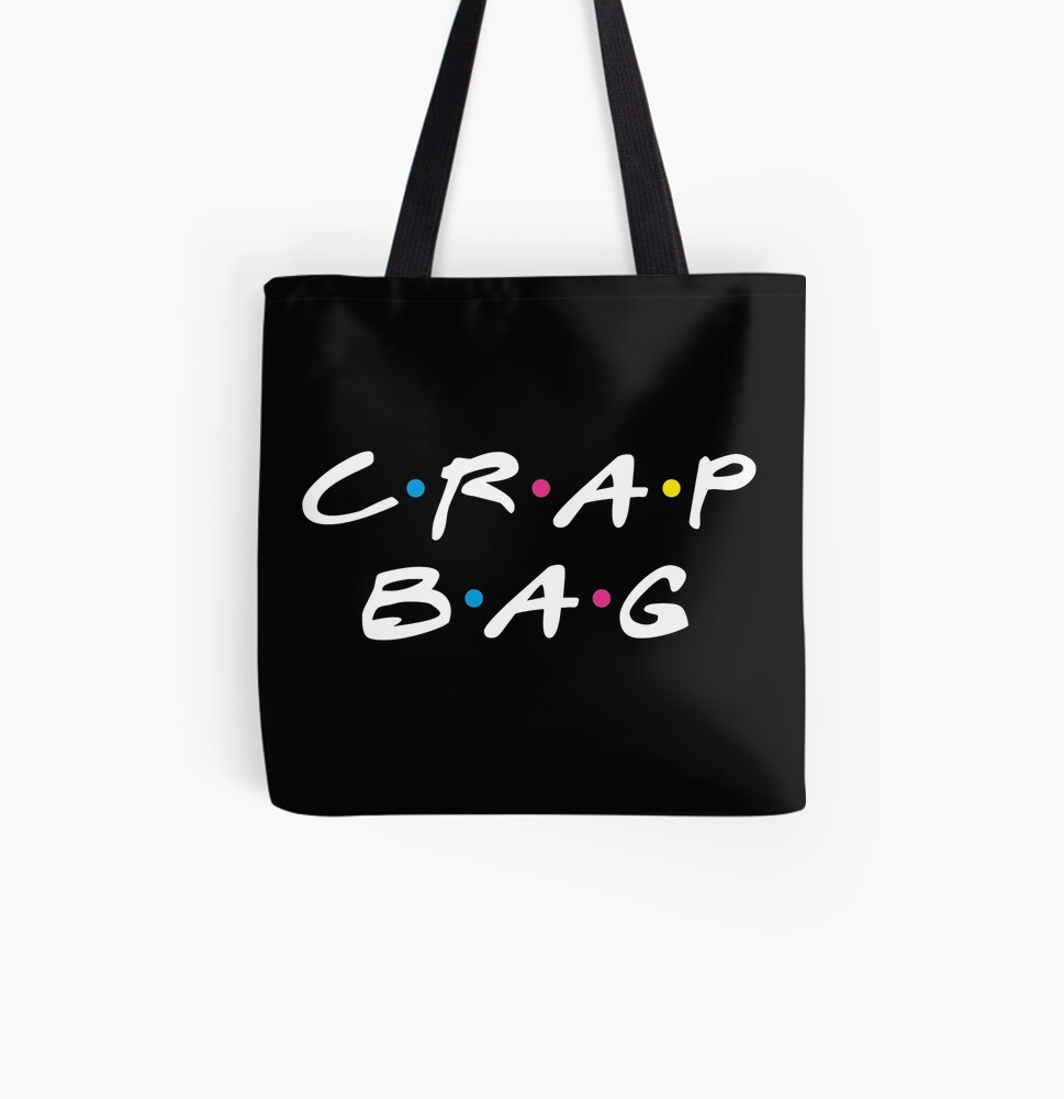 Crap Bag All Over Print Tote Bag