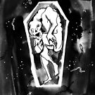 Waiting to Escape the Coffin by superstarling