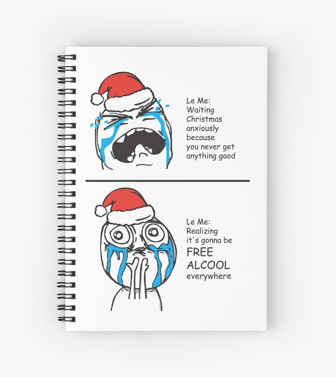 Christmas Card Free Alcool Memes le me in awe funny greeting cards ...