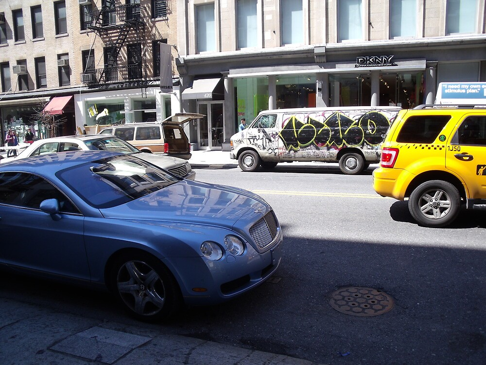 Contrast of Culture- Bentley vs. Tagged Up Delivery by TJ Trubert