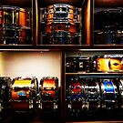 Pretty Snare Drums All In A Row by Douglas E.  Welch