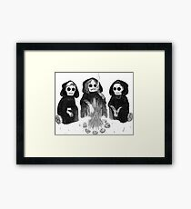 What I Know Now Framed Print
