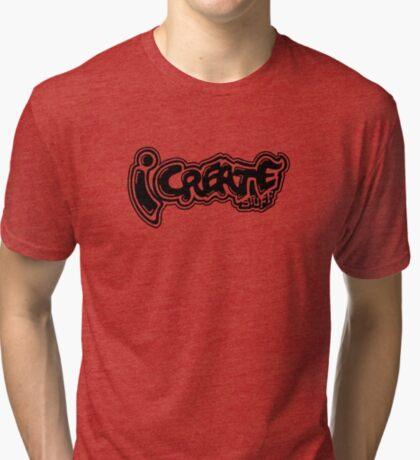 i create tags Tri-blend T-Shirt