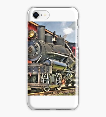 Little steam engine iPhone Case/Skin