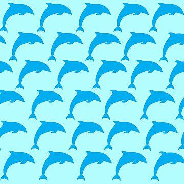 Patrón de salto de delfín de DanaAndTheBooks