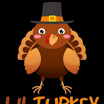 LilTurkey Cute Happy Thanksgiving Day by BUBLTEES