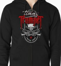 Timmy Trumpet - Badge Zipped Hoodie