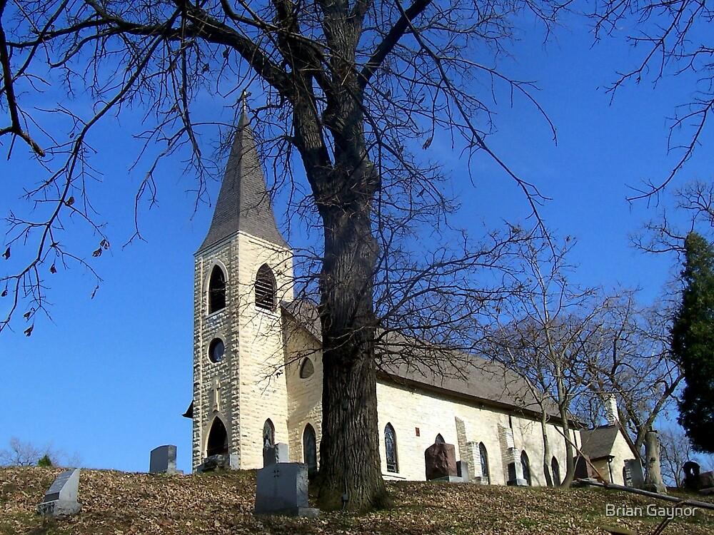 St. James at Sag Church by Brian Gaynor