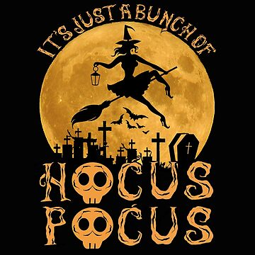 Halloween Witch T-Shirt Funny Hokus Pokus Costume as a gift idea by MrTStyle