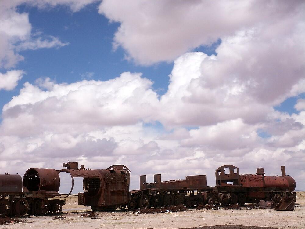 Train Delay by Vonnstar