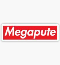 Megapute Sticker