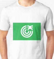 Flag of Mikawa Ehime | Ehime Prefecture | Japanese Municipal Flag Unisex T-Shirt