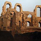Roman ruins, El Djem, Tunisia by indiafrank