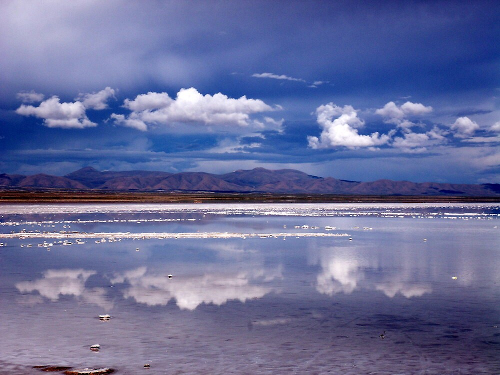 Salt Reflections 2 by Vonnstar