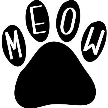 Cat Paw Meow de DanaAndTheBooks