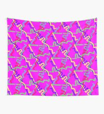 Confetti Streamers Wall Tapestry