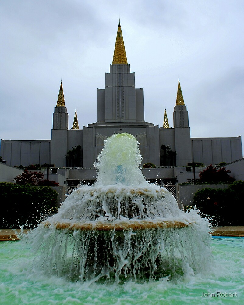 Oakland Temple 1 by Bob Moore