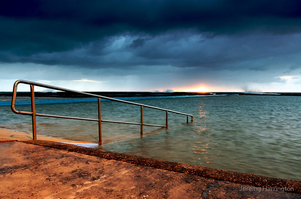 A Stormy Narrabeen Sunrise by Jeremy Harrington