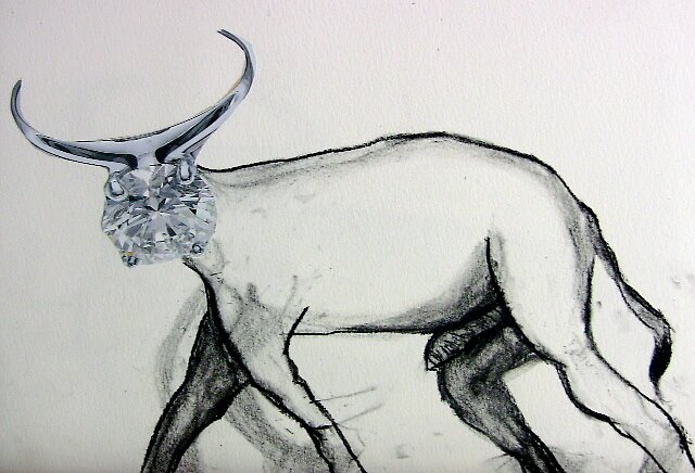 Diamond Bull  by jills