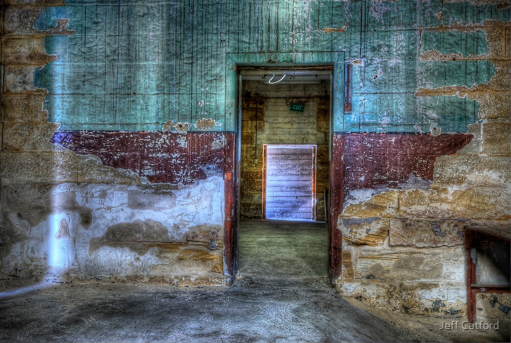 Winged Door - Cockatoo Island by Jeff Catford