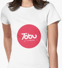 Tobu Everyday - Red Women's Fitted T-Shirt