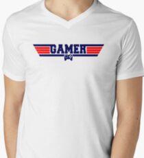 Top Gamer Men's V-Neck T-Shirt