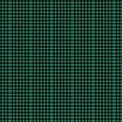 Tartan Plaid - Green Black Scottish Clan  by TheKitch