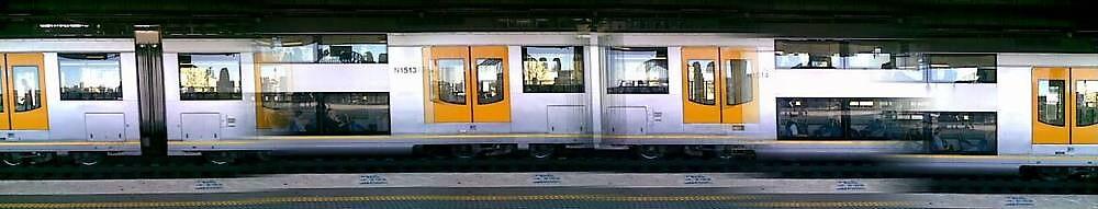 Sydney Train Service by jazzkat89