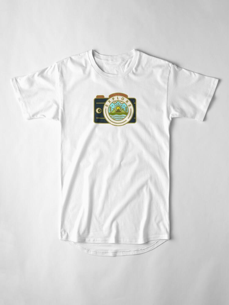 Alternate view of Explore Long T-Shirt
