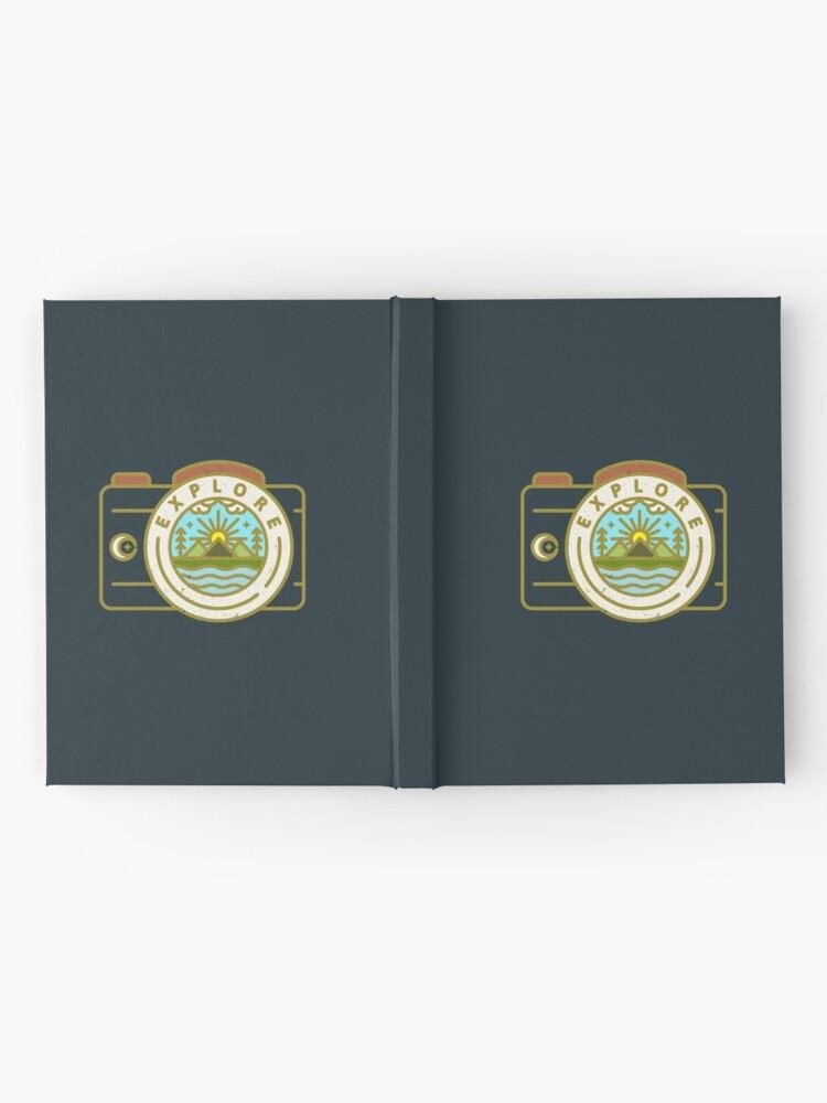 Alternate view of Explore Hardcover Journal