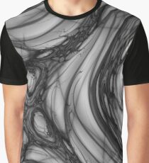 Abstract grey Graphic T-Shirt