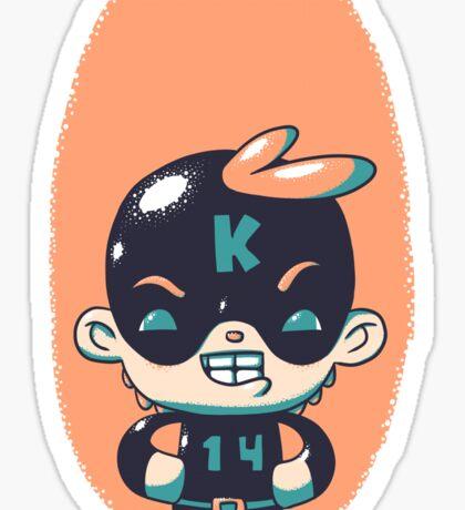 Kaptain 14 Sticker