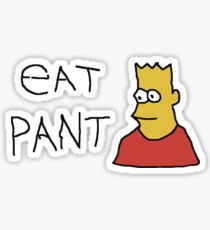 Eat Pant Sticker