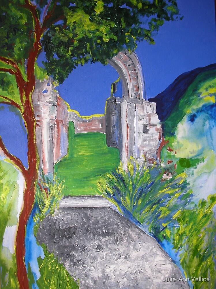 Earth's returns by Julie-Ann Vellios