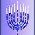 Hanukkah Menorah by Millions Missing Canada