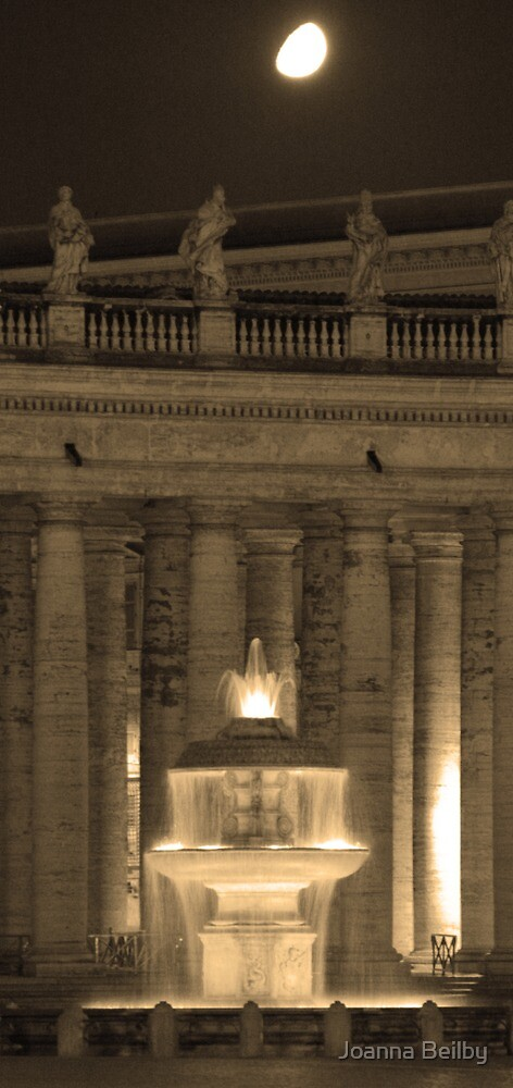 Piazza di San Pietro. by Joanna Beilby