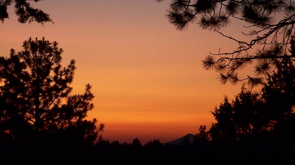 Central Oregon Sunrise by foxx0102