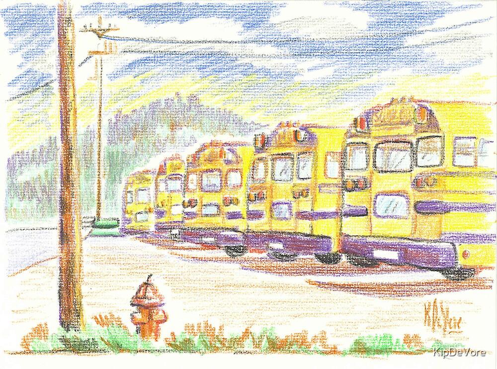 School Bussiness by KipDeVore