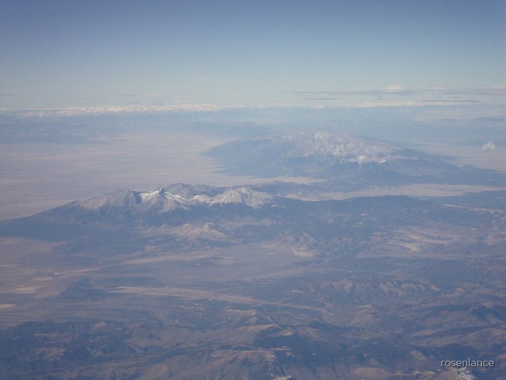 From the plane window by rosenlance