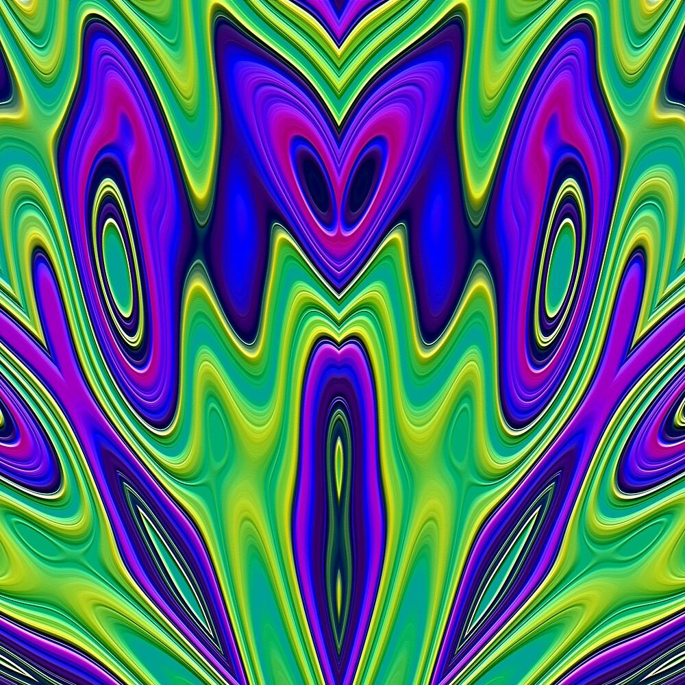 Fish Kaleidoscope 2000 by Hugh Fathers