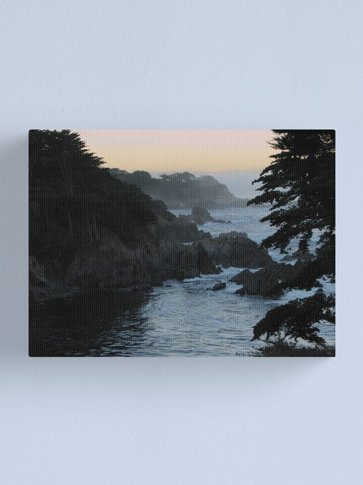Alternate view of View of Point Lobos Canvas Print