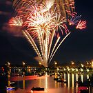 Bay City Fireworks Festival - 2014 by Francis LaLonde