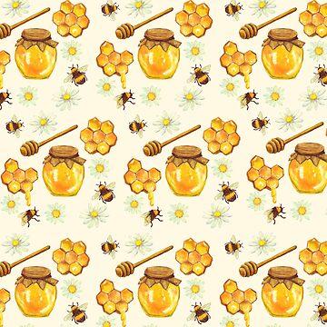 Bumble Bee Honey by EarthlyIndigo
