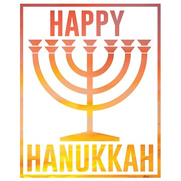 Chanukah Menorah Festival of Lights by Deesdesigns
