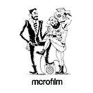Microfilm duo (in Black) by Davey K by microfilm