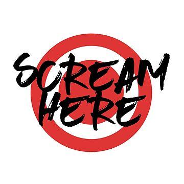 Scream Here by habi8