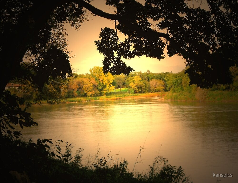 Autumn - River View by kenspics